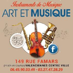 art et musique Valenciennes